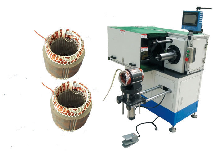 Induction Motor Stator Coil Horizontal Single Side Lacing Machine SMT-DW300
