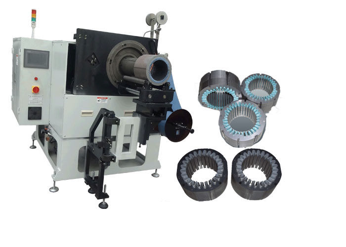 Horizontal Motor Stator Slot Insulation Paper Inserting Machine SMT-CW300
