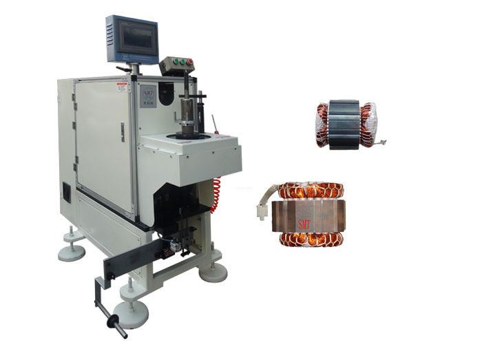 Single Side High Efficiency Stator Coil Lacing Machine / Lacing Machine - DB100