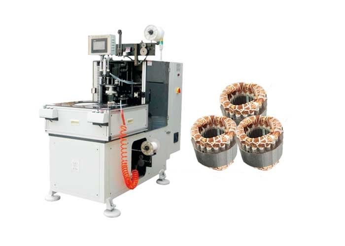 CNC Controller Stator Lacing Machine With Turntable For Binding Winding Heads