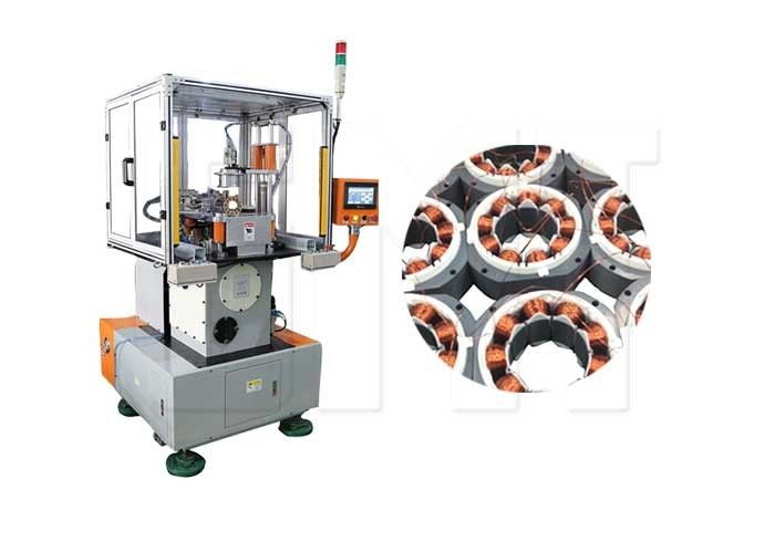 Electric Motor In Slot Stator Needle Stator Winding Machine With Wire Protection